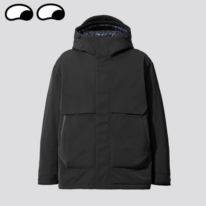 [全新]Uniqlo +J Hybrid 男裝寬版羽絨連帽外套