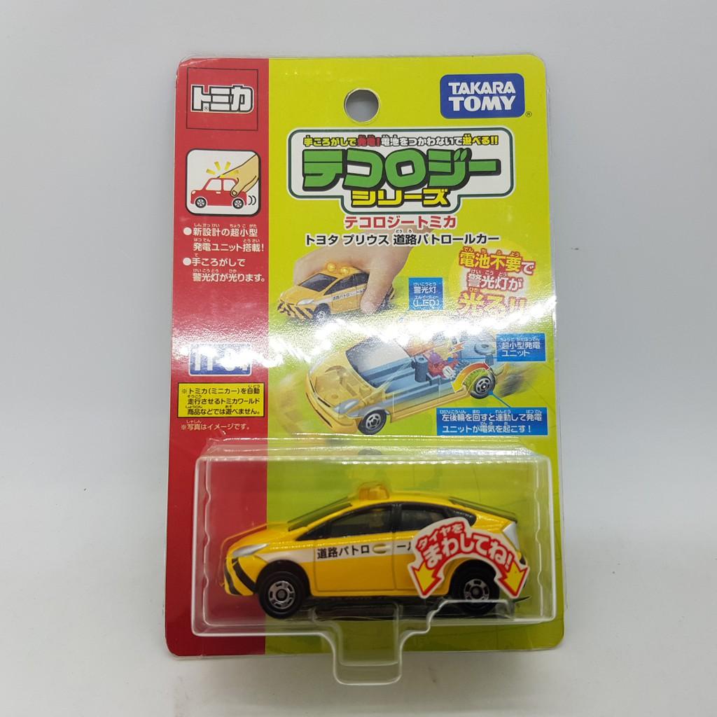 【小車停車場】TOMICA TT-04 TT04 發光車 TOYOTA PRIUS 道路警車