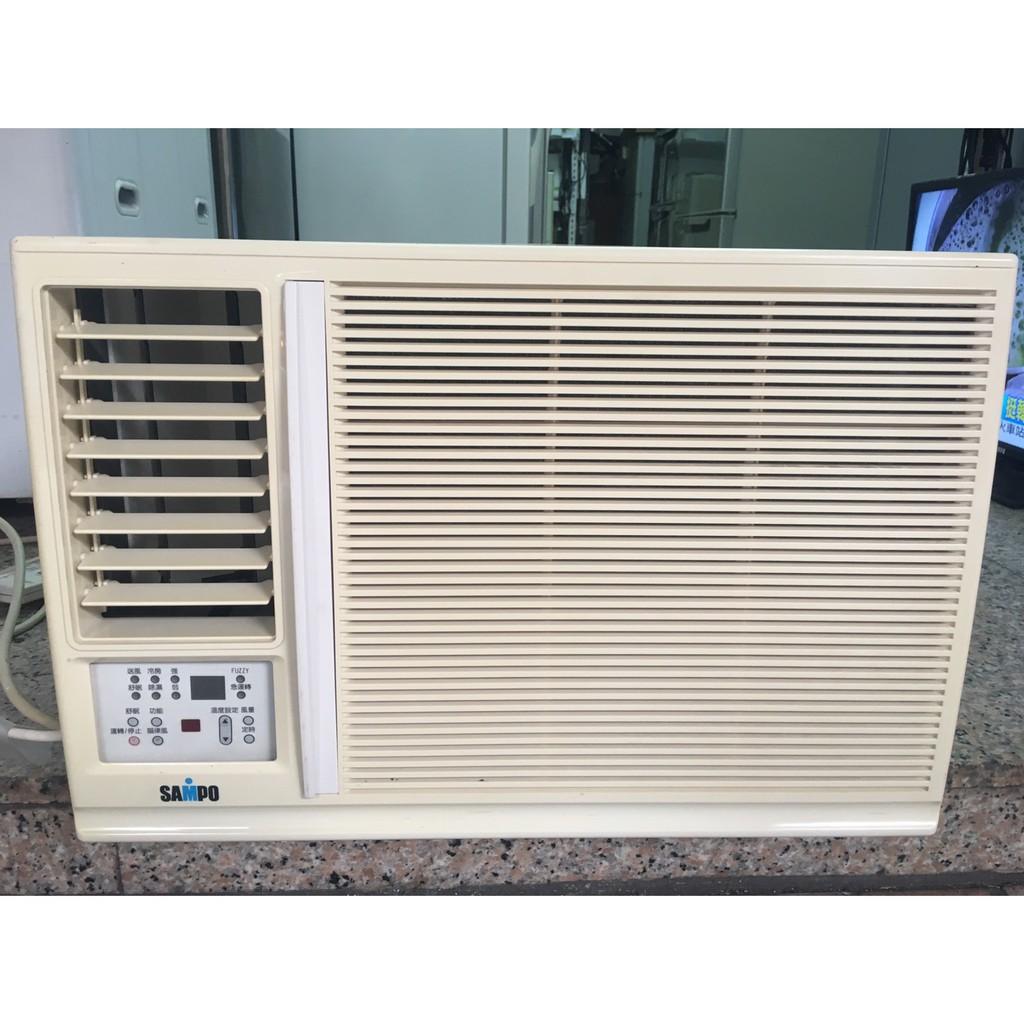 頂尖電器行「二手」聲寶 1噸 左吹窗型冷氣 ( 4-5坪適用 )【含標準安裝】
