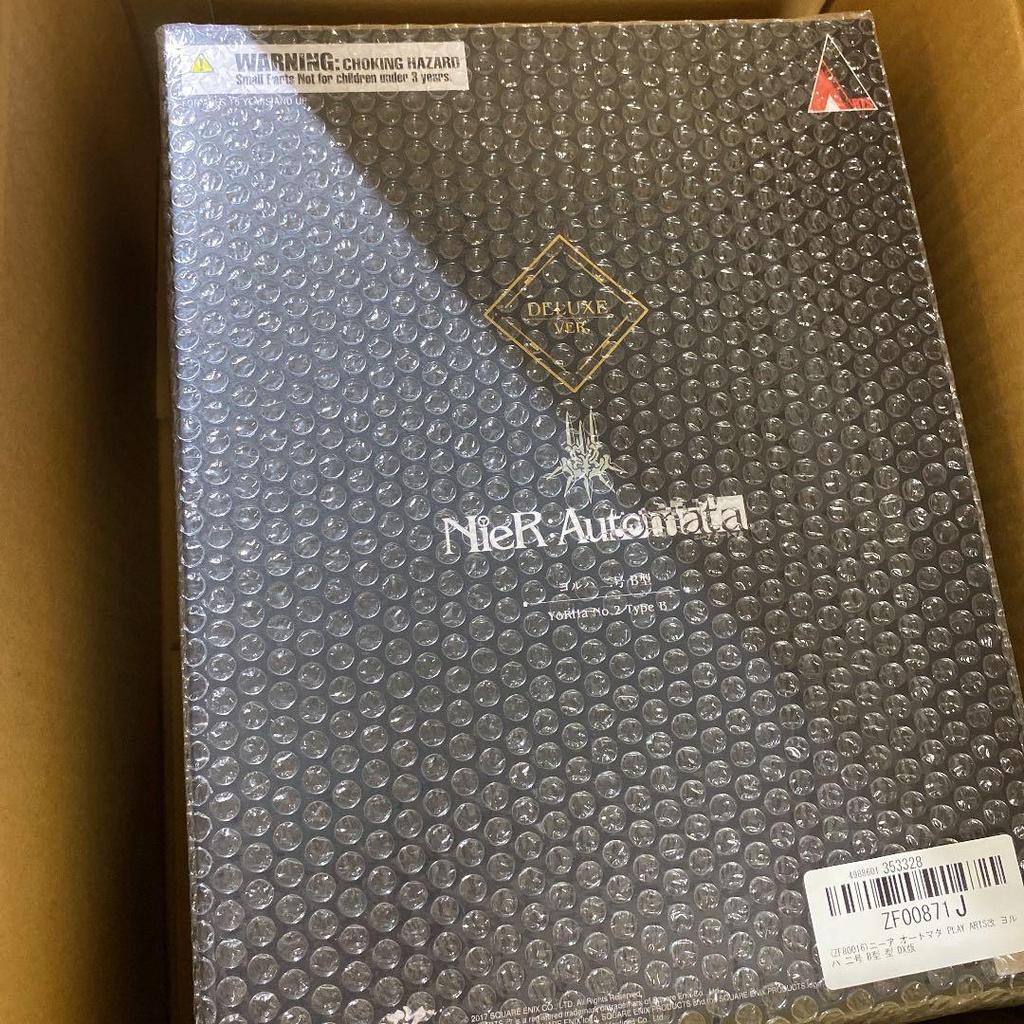[JAPAN] [新未使用] NieR: Automata 2B DX 版 Play Arts Kai [來自日本]