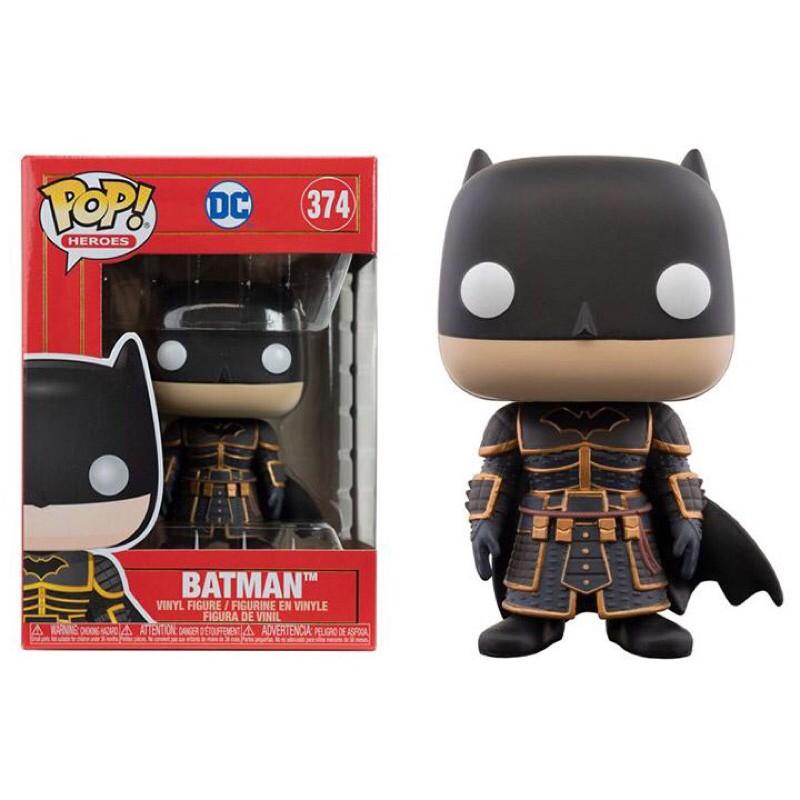 {克拉克玩具}FUNKO POP DC  BATMAN 374 故宮武士系列 蝙蝠俠