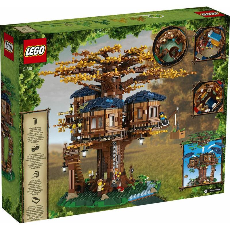 【超萌行銷】現貨 樂高 LEGO IDEAS 21318 樹屋 Tree House 2643PCS