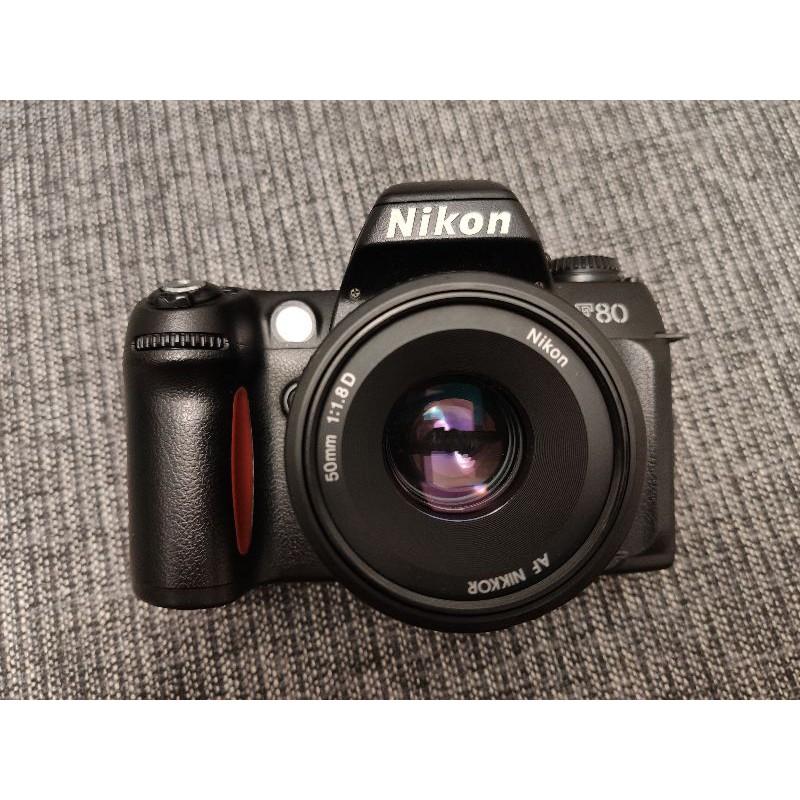 Nikon F80 + 50mm f1.8d