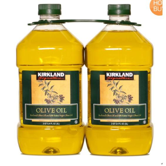 Costco 代購 - Kirkland Signature 科克蘭 純橄欖油 3公升