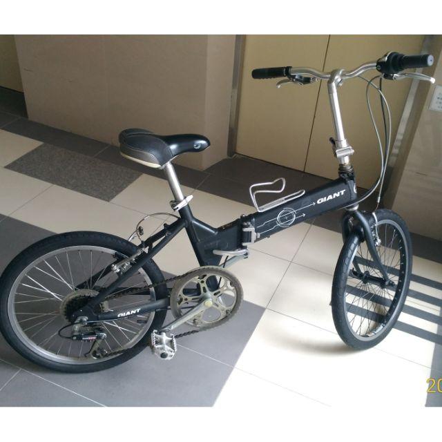 捷安特 FD806  經典折疊腳踏車 車況佳