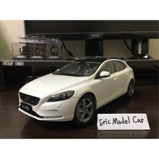 【E.M.C】1:18 1/ 18 Volvo V40 模型車 白色/ 銅色 台南市