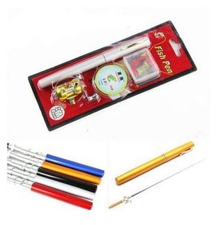 釣魚竿冰釣竿鋼筆魚竿小海竿鋼筆竿套裝魚桿迷你手竿1.6米1.4米1