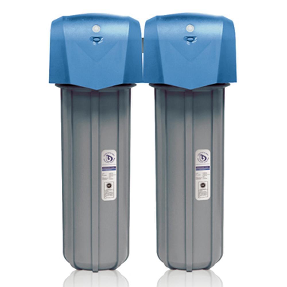 【BWT德國倍世】全戶式雙道除氯過濾器FH6620(含到府安裝服務)
