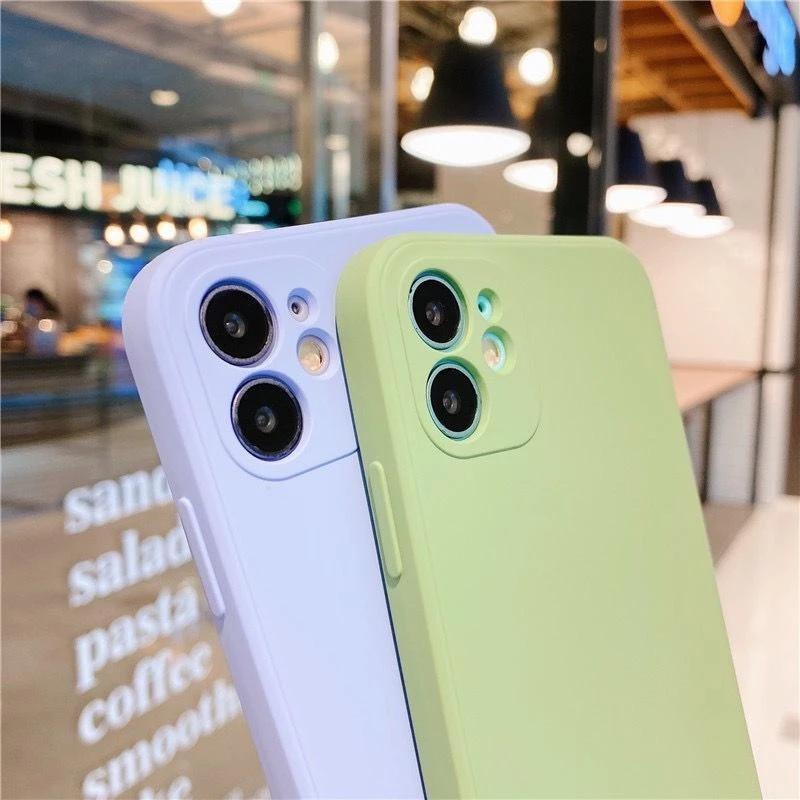 全新豪華原裝方形液體矽膠保護套適用於華為 P20 P30 Pro 軟質手機殼