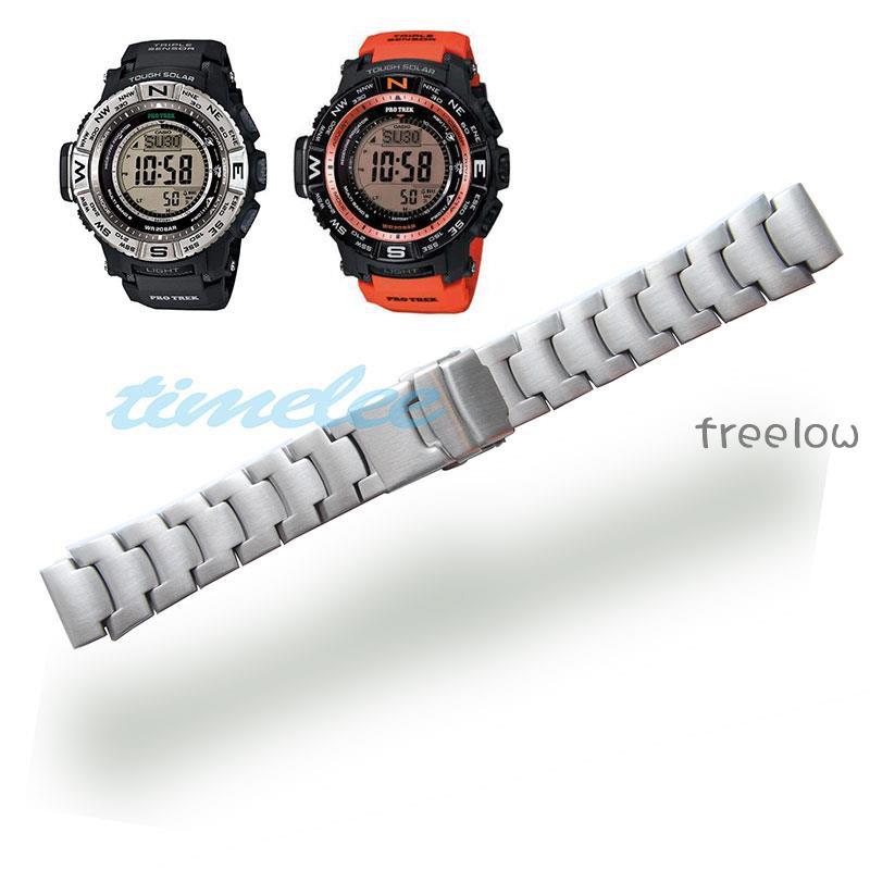 💎🎽卡西歐鋼表帶PRG-260/550/250/500 PRW-3500/2500/5100/手表帶