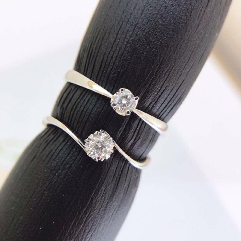 璽朵珠寶 [ 18K金 10分 旋轉 鑽石戒指 ] 微鑲工藝 精品設計 鑽石權威 婚戒顧問 婚戒第一品牌 鑽戒 GIA