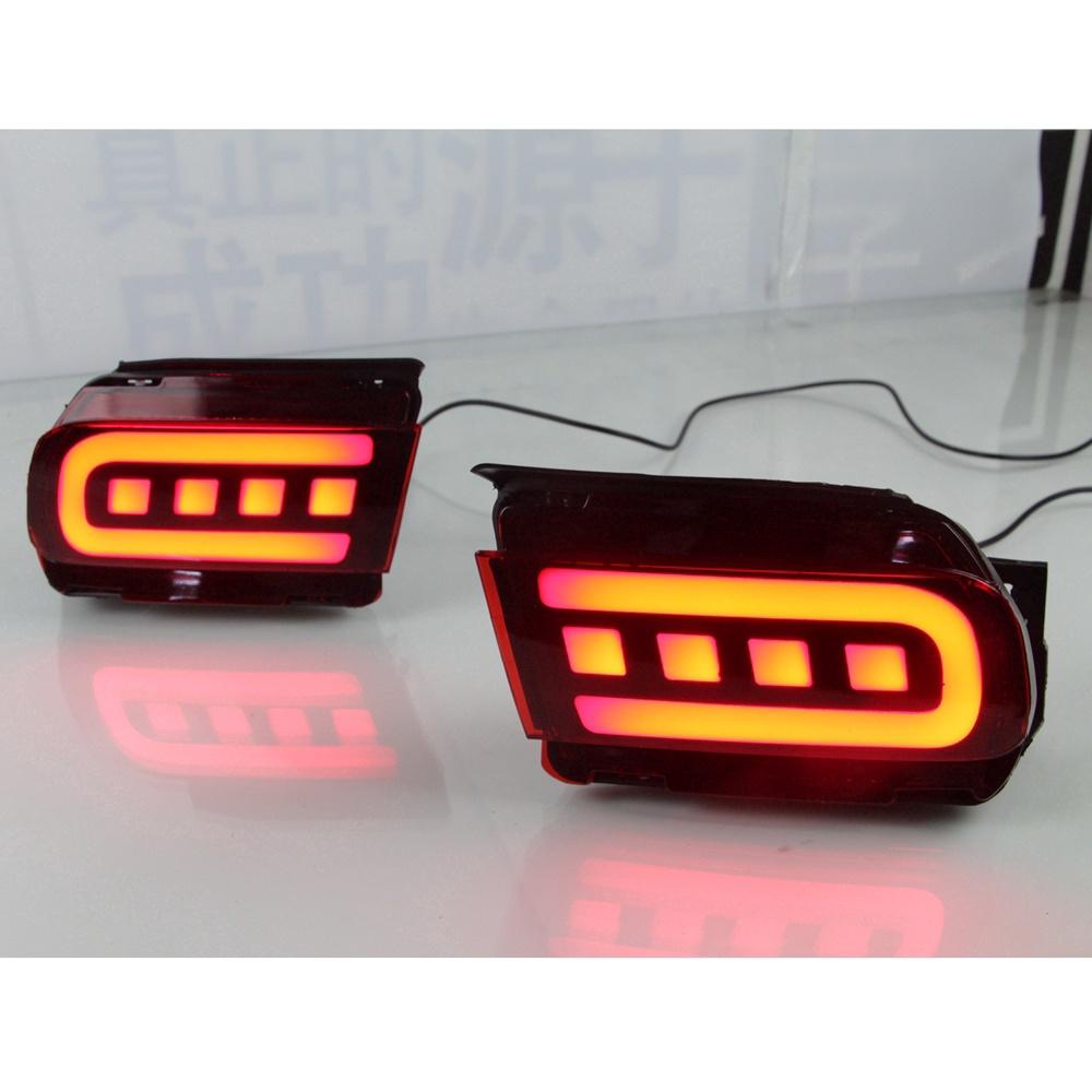 豐田 汽車後杠燈 霸道 Toyota Prado 10-21年 二功能LED後保險槓尾燈 行車燈剎車燈 改裝專用 車燈
