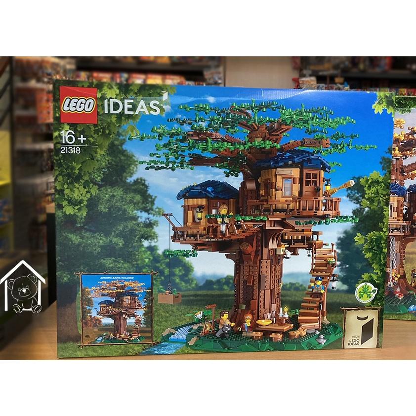 盒損《熊樂家║高雄 樂高 專賣》LEGO 21318 樹屋 Tree House IDEAS