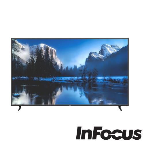 可刷卡 鴻海 Infocus 80吋 4K 智慧 連網 液晶 顯示器 電視 含視訊盒 WT-80CA600