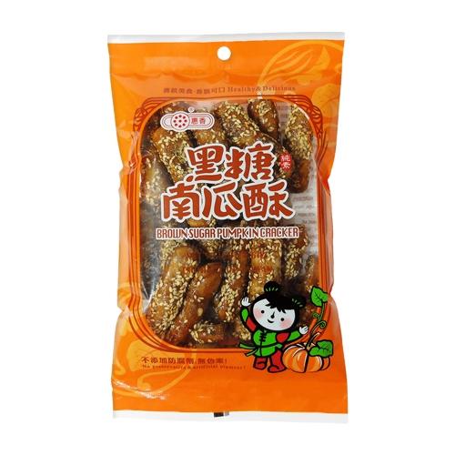 惠香 黑糖南瓜酥(130g)【小三美日】D004615