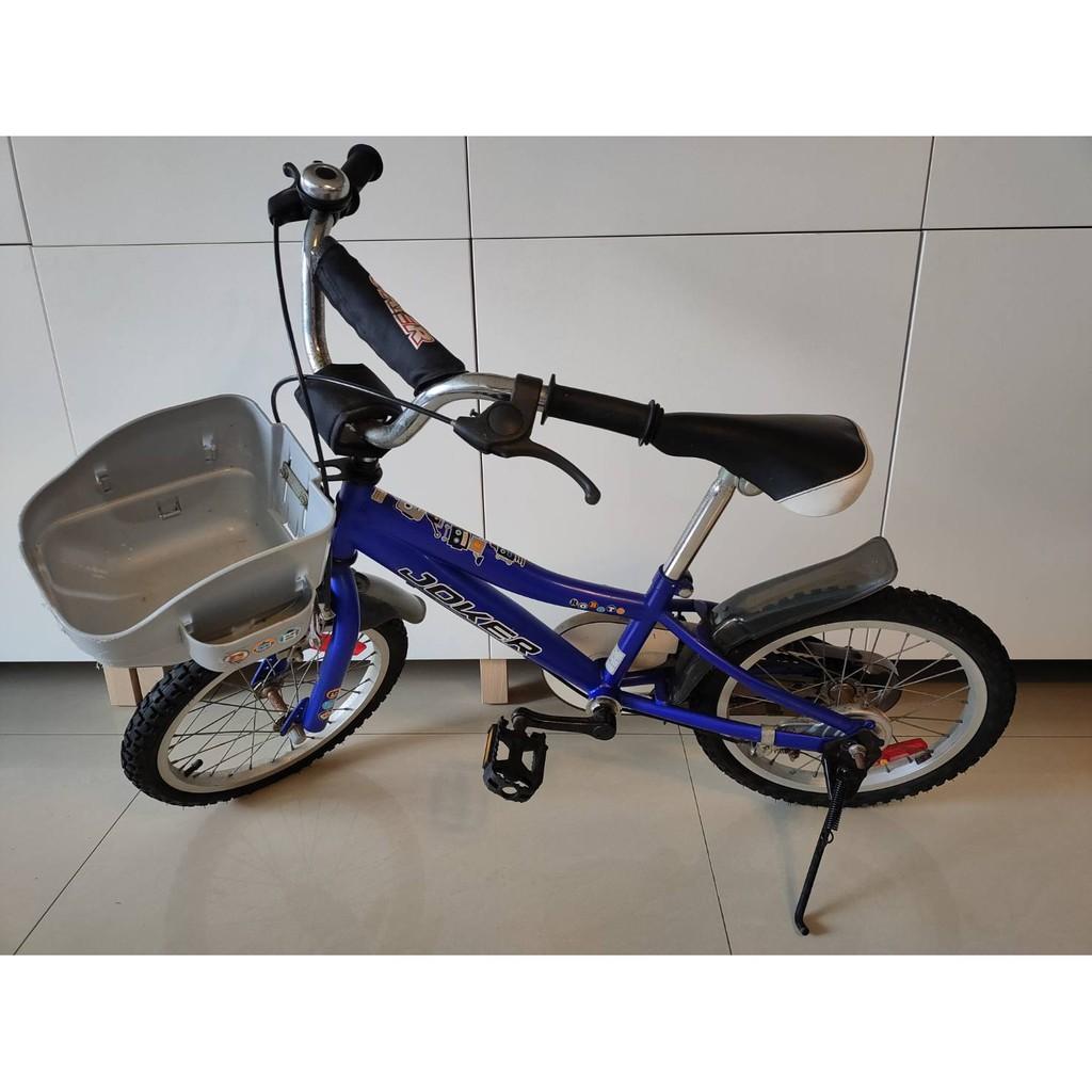 二手16吋兒童腳踏車(含輔助輪)