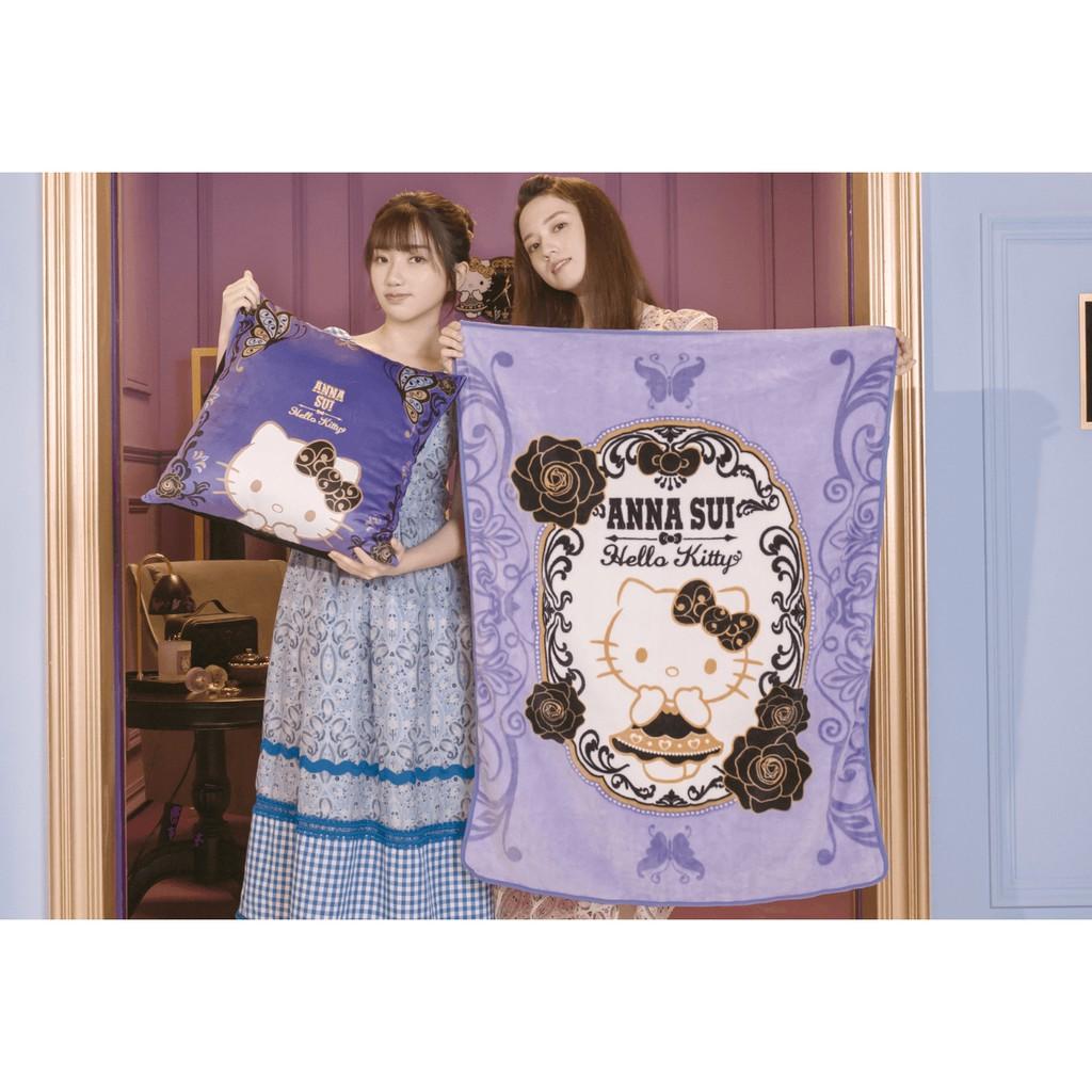 【小7柑仔店】[補單用_請勿下單]7-11 ANNA SUI 時尚聯萌 三麗鷗 Kitty 美樂蒂 集點 刺繡抱枕保暖毯