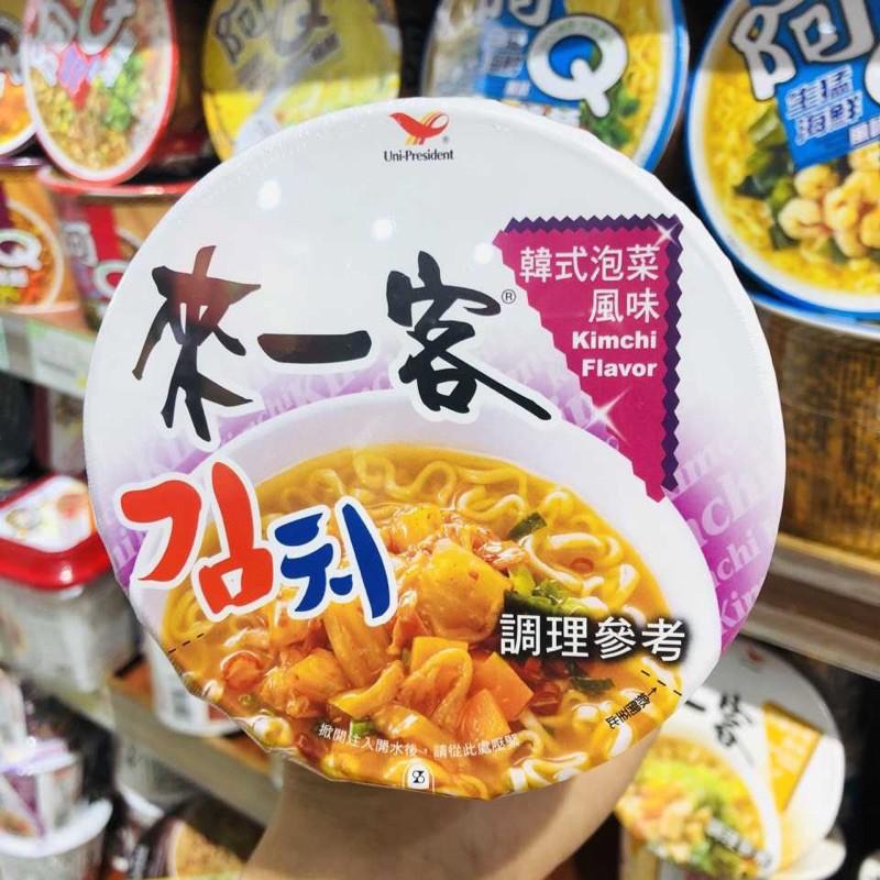 來一客泡麵-韓式泡菜口味