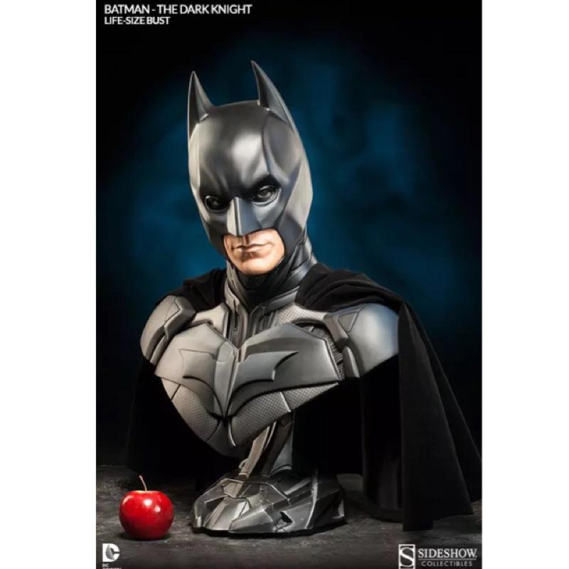 Sideshow 蝙蝠俠Batman黑暗騎士1/1胸像半身像雕像精品