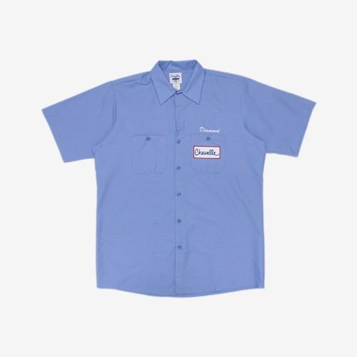 Diamond Chevelle Big Block 工作襯衫 (藍)《Jimi Skate Shop》