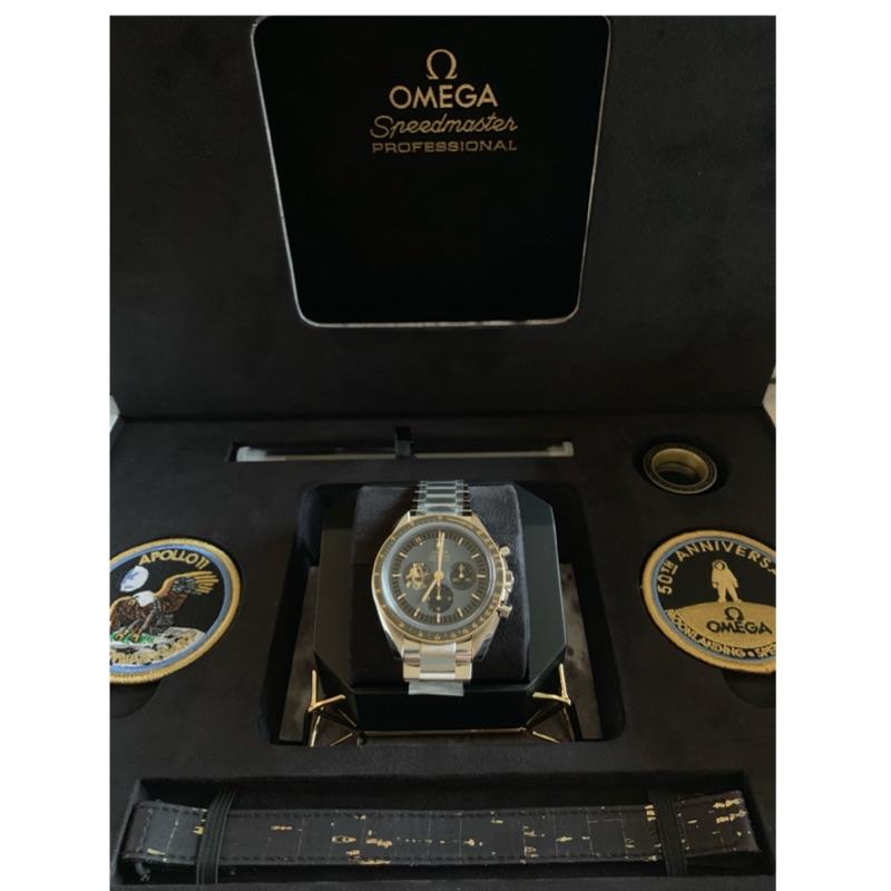 Omega speedmaster apollo 11 登月 50th 阿波羅11號50週年紀念錶