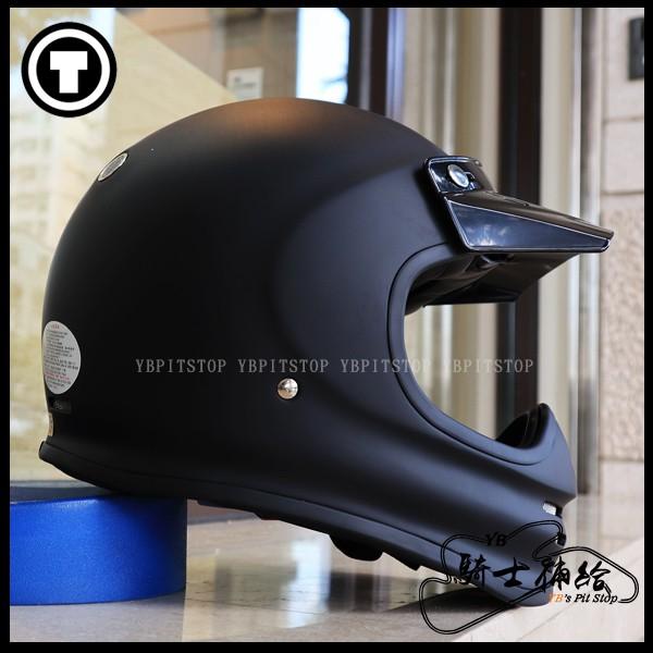 ⚠YB騎士補給⚠ TORC T-3 Flat Black 消光黑 山車帽 全罩 安全帽 復古 帽簷 經典 美國 T3