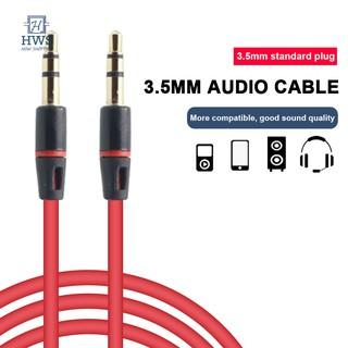 1.2m 3.5mm Aux 公對公音頻電纜耳機延長線汽車自動連接延長線