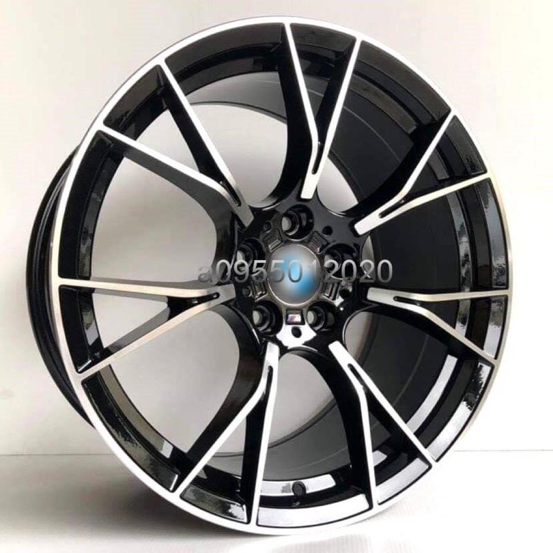全新類BMW G90 M5輕量式樣5孔112 19吋鋁圈G11/G12/G20/G30/G31/G32/530D