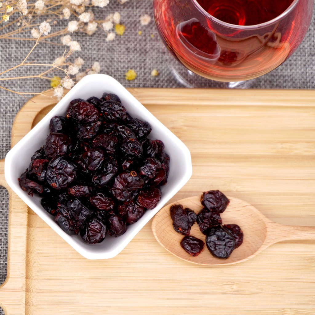 【嘴甜甜】 全果蔓越莓乾 200公克 整粒蔓越莓 果乾系列 純素