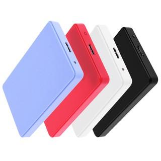 ⚘ 新款2.5寸USB3.0 SATA移動硬碟盒 免螺絲支持3TB (4色可選)