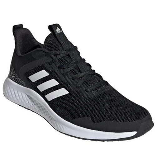 Adidas-FLUIDSTREET 男款黑色慢跑鞋-NO.FW1703