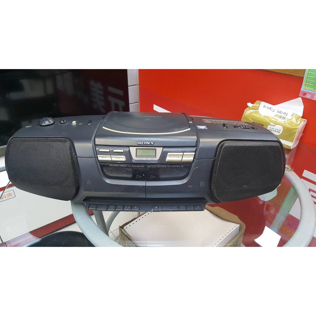 【二手出清】SONY 索尼 CFD-DW222 手提式 收音機 功能僅剩 收音機 聲音宏亮 音質好 工地音響