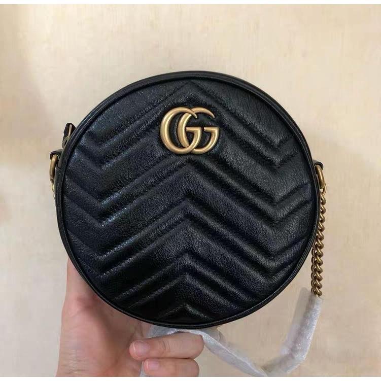 全新正品 Gucci Portamonete GG Marmont 575160