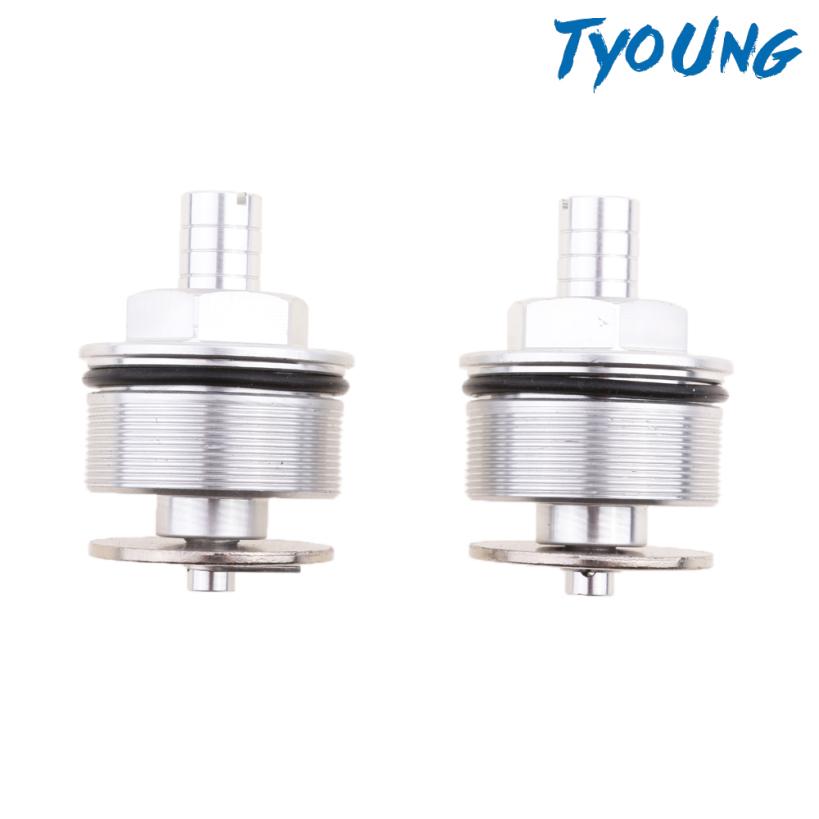 HONDA [Tyoung] 本田 Cb400 的銀色電機調節器前叉螺栓 / 叉蓋調節器