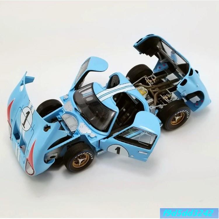 快樂購百貨 1966年福特GT40 MKII 勒芒賽車模 ACME原廠1:18 合金仿真汽車模型