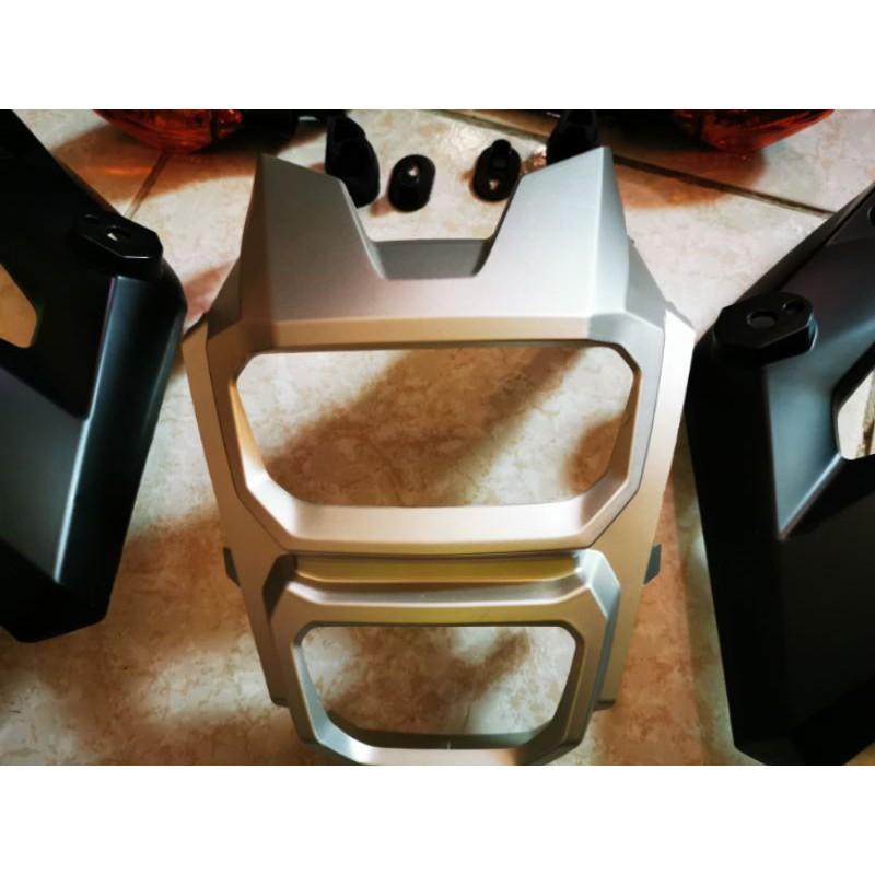 Honda msx sf 消光銀 頭燈罩 大燈燈罩 殼 燈耳及原廠方向燈