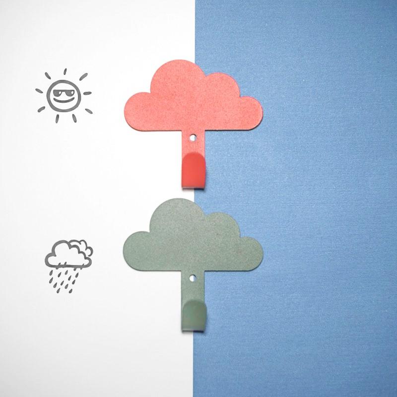【台灣現貨+免運】掛勾 雲朵造型掛勾 掛鉤 白雲黏貼掛勾 居家掛鉤 黏膠掛鉤 居家裝飾【RS1206】