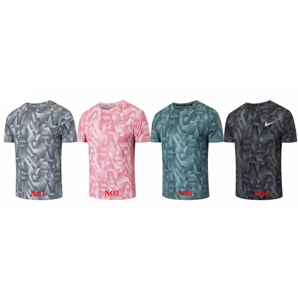 新款 NIKE 運動休閒健身速乾透氣排汗跑步騎行慢跑 T恤 短T 短袖T恤 運動上衣 內搭衣 排汗衫 盜夢空間面料