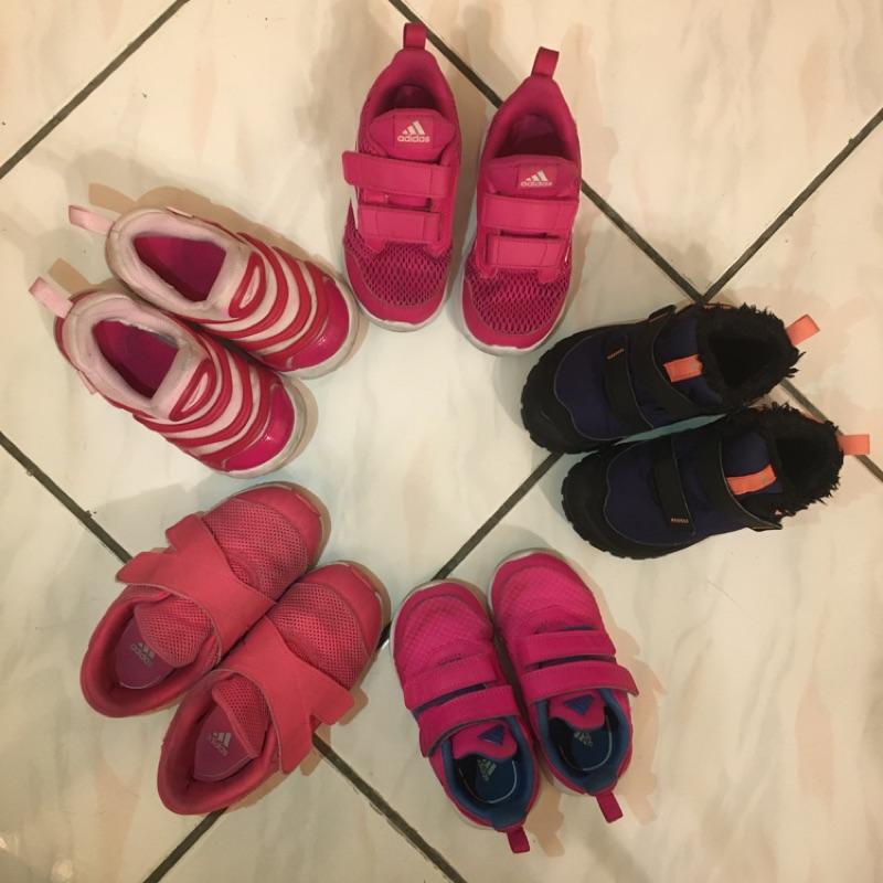 二手童鞋adidas 愛迪達Nike 迪卡儂雪靴
