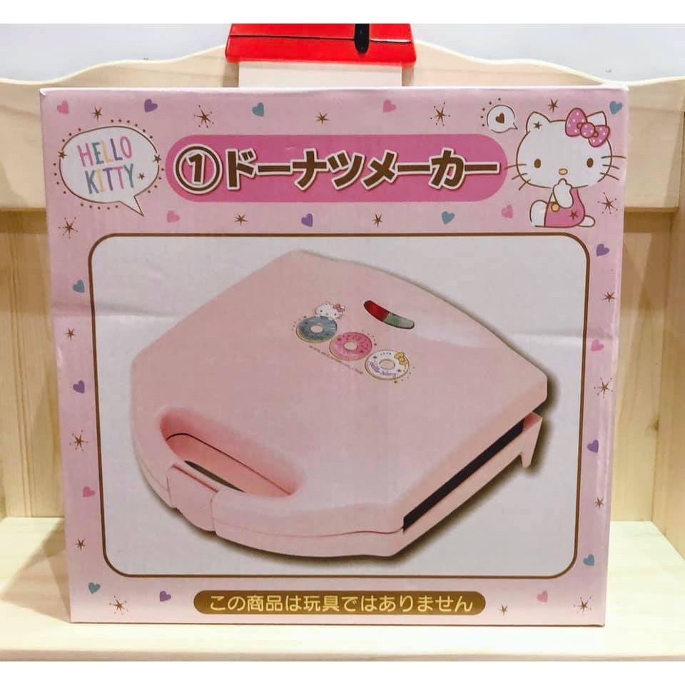 賠本出售 日本進口 HELLO KITTY 鬆餅機 甜點小幫手