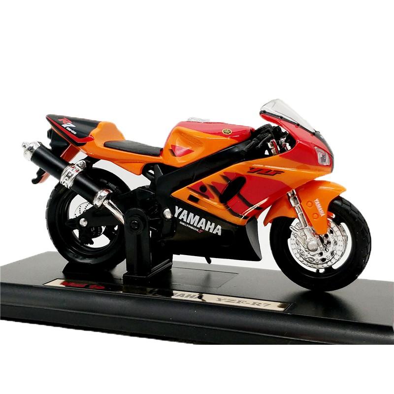 Maisto 1:18 YAMAHA YZF-R7模型自行車