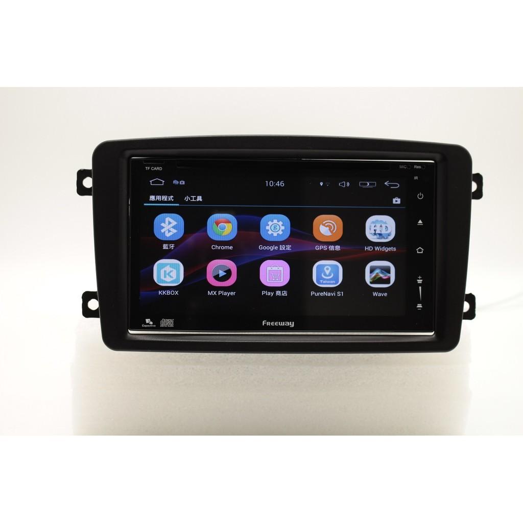 M.BENZ賓士W203 (2000-2004年)安卓系統 觸控螢幕 汽車主機 藍牙電話 WIFI USB