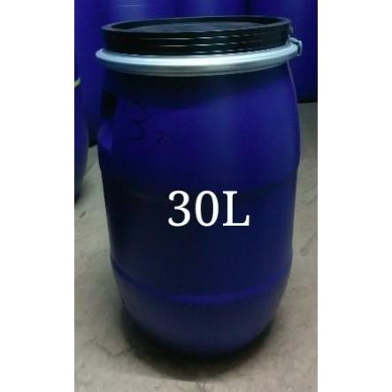 新品台製30L~50L  藍色 塑膠桶 化學桶 耐酸桶 密封桶 運輸桶 堆肥桶 廚餘桶 儲水桶/運費詢問