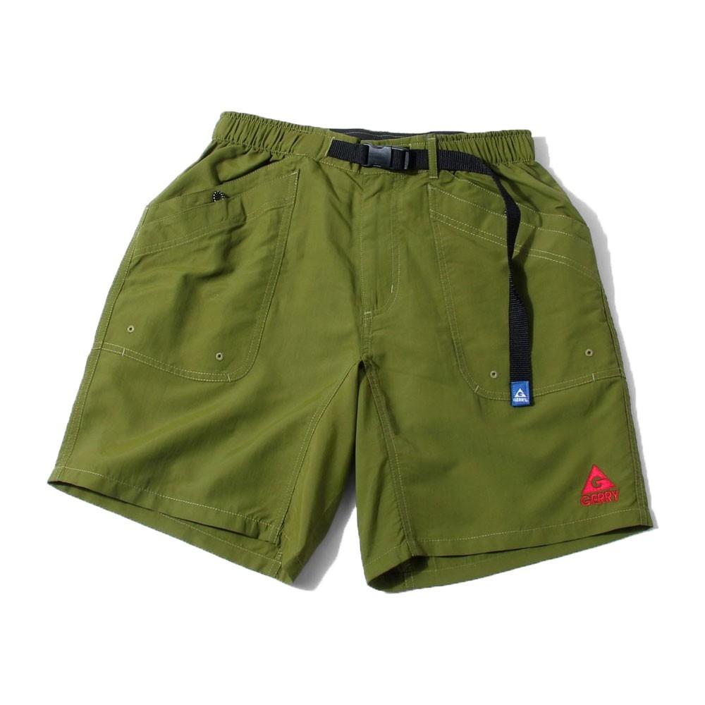 GERRY OUTDOORS 76200-43 Stretch Fabric Shorts 登山機能 短褲 (綠色)