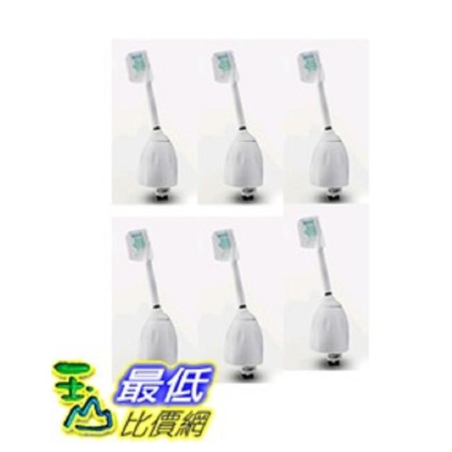 (現貨6入裝)Philips 副廠相容型牙刷頭 HX7001 HX7002 適合飛利浦 Sonicare 電動牙刷 TA