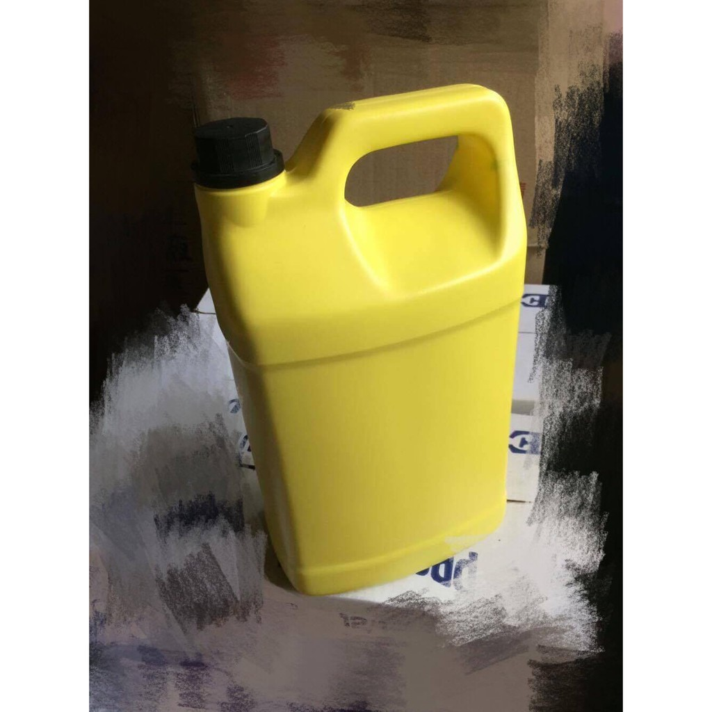 不透光 2號 拋劑罐 分裝罐 空瓶 4公升 消毒 酒精