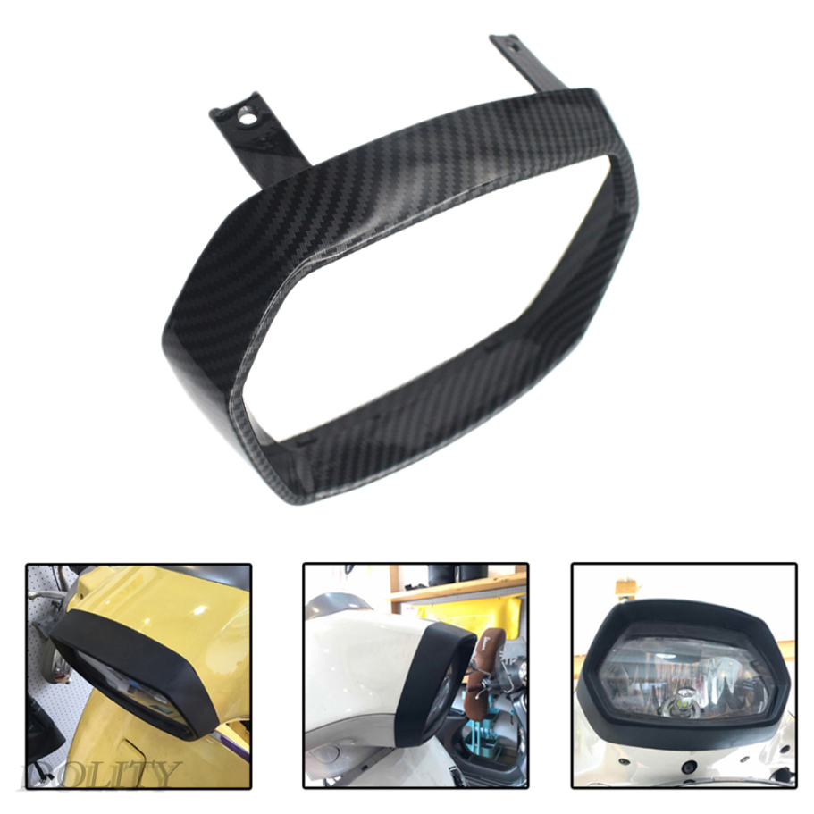 [Dolity] Vespa 150 Sprint 的 Abs 前大燈邊框裝飾防護罩