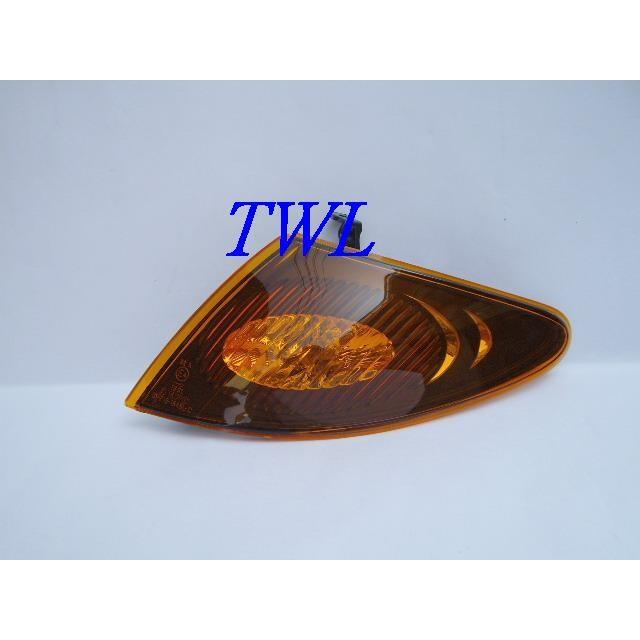 全新MAZDA馬自達PREMACY 02~05年2.0專用黑底黃角燈