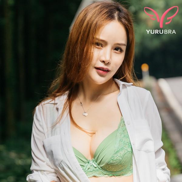 玉如阿姨 璀璨花影內衣 包覆 哺乳 舒適 服貼 機能 售完為止 BC罩 S88淺綠