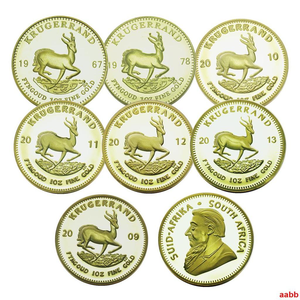 紀念幣 紀念鈔 多年份任選南非克魯格金幣紀念幣第一任總統幣硬幣南非國父紀念幣